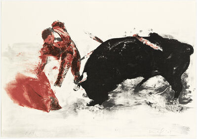 Eric Fischl, 'Untitled (Bullfight 3)', 2009