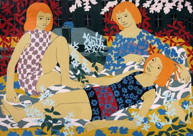 Norman Gilbert, 'Sun Bathers', 1969