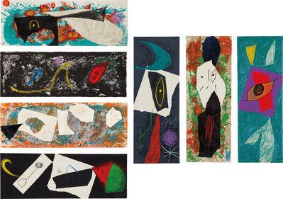 Joan Miró, 'Les Pénalitiés de L'Enfer ou Les Nouvelles-Hébrides (The Penalties of Hell or The New Hebrides) (M. 959-90, C. 188)', 1974