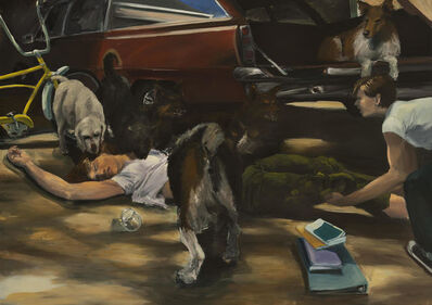 Eric Fischl, 'A Woman Possessed', 1981