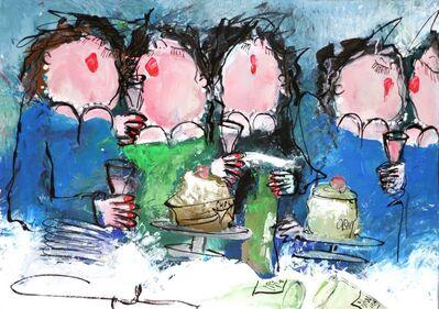 Gerdine Duijsens, 'Champagne et Chocolat', 2014