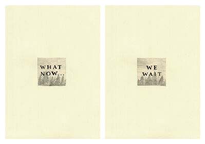 Keaton Henson, 'What Now Diptych', 2016