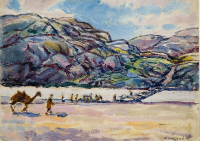 Harold Weston, 'Military Bridge', 1918