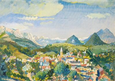 Oskar Laske, 'Sight of Bad Aussee', 1932