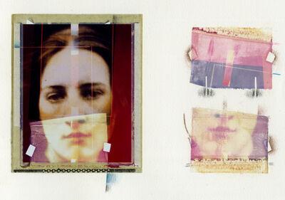 """Paolo Gioli, '""""Cameron Obscura""""  Polaroid/Polaroid su Sete', 1984"""