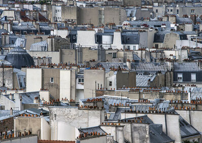 Michael Wolf (b. 1954), 'Paris Rooftops #17', 2014