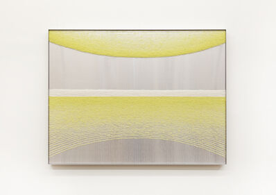 Mimi Jung, '100317 Yellow Ellipses', 2020