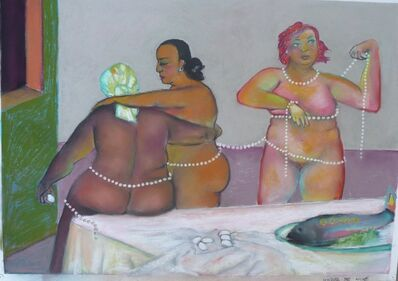 Stephen Basso, 'Three Graces with Pearls', ca. 2009