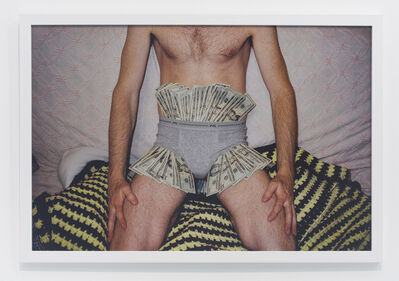 Andrew Jeffrey Wright, 'Money in underwear', 2003
