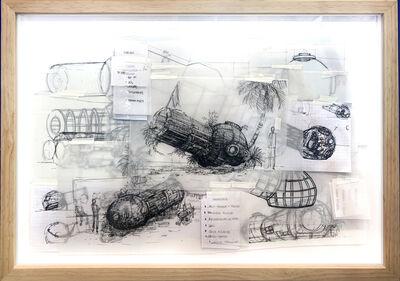 Simon Vega, 'Tropical Space Hostel Blueprints project', 2019
