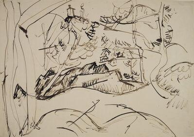 Ernst Ludwig Kirchner, 'Taunuslandschaft', 1915