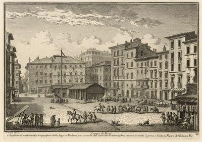 Giuseppe Vasi, 'Campo di Fiori', 1747
