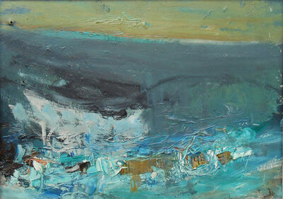 Joan Eardley, 'Rough Sea'