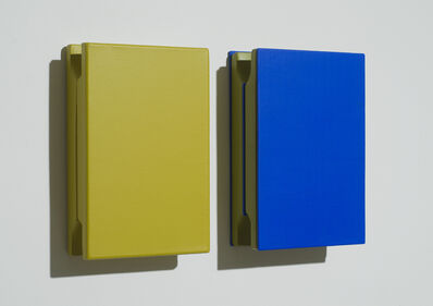 Árpád Forgó, 'Yellow and blue sandwich', 2014
