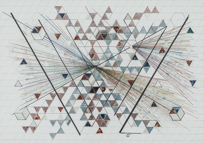 Monir Farmanfarmaian, 'Untitled', 2012