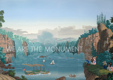 Nathan Coley, 'We Are The Monument', 2019