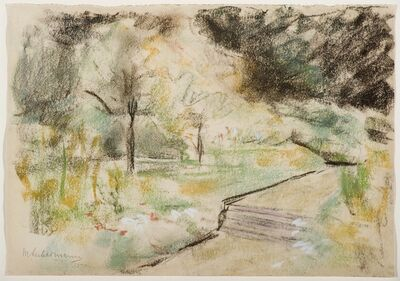 Max Liebermann, 'Der Nutzgarten in Wannsee nach Südwesten', ca. 1920
