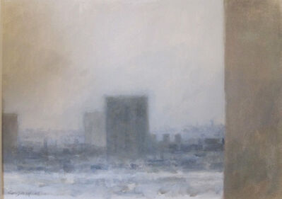 Sidney Goodman, 'Gray City Scape', 2003