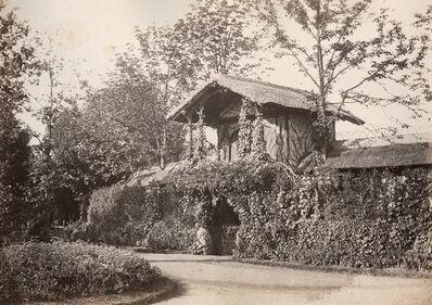 Charles Marville, 'Extérieur de la Loge Impériale au Théâtre des Fleurs, Pré Catelan, Bois de Boulogne', 1858/1858