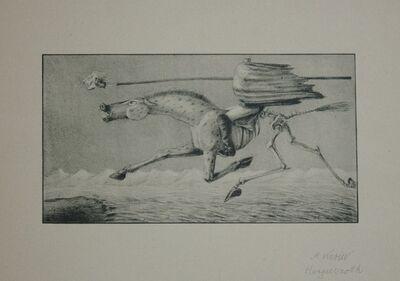 Alfred Kubin, 'Hungersnot', 1903