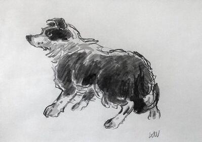 Kyffin Williams, 'Sheepdog', ca. 1997