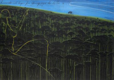 José Bedia, 'Buscando un lugar por Quisqueya la Bella', 2013