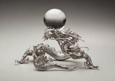 Koreyoshi Ishiguro, 'Dragon and Crystal Ball', Late 19th Century