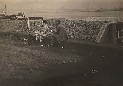 Berenice Abbott, 'Sea Wall', ca. 1955