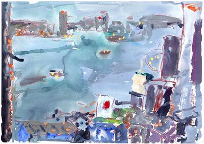 Elisabeth Cummings, 'Early Evening, H.K.harbour', 2015