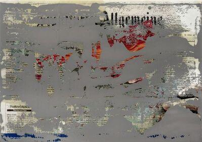 Gerhard Richter, 'FAZ Overpainted', 2002