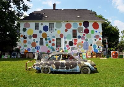 Tyree Guyton, 'The Dotty Wotty House'