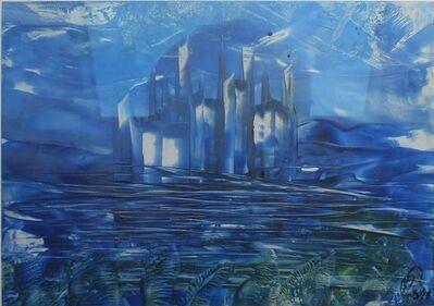 Matthias Dräbing, 'Blue skyline', 2018