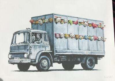 Banksy, 'Sirens Of The Lambs / Meat Truck (Signed Gift Print)', 2013