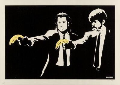 Banksy, 'Pulp Fiction', 2003