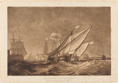 J. M. W. Turner, 'Entrance of Calais Harbour', published 1816
