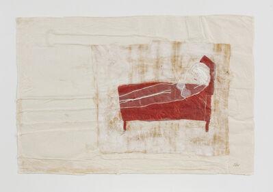 Azade Köker, 'Lady in Red', 2006