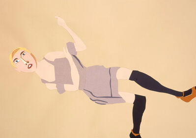 Chantal Joffe, 'Short Haired Blonde Reclining', 2006