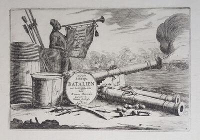 Reinier Zeeman, 'New Inventions of Naval Battles (complete set)', 1652-1654