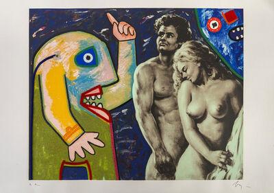 Enrico Baj, 'Adamo e Eva', 1986
