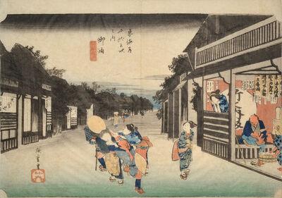 Utagawa Hiroshige (Andō Hiroshige), 'Goyu', ca. 1832