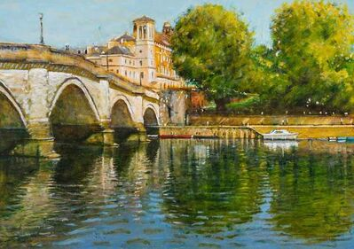 Clive McCartney, 'The Thames at Richmond', 2019