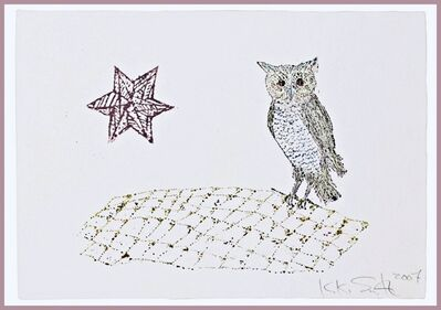 Kiki Smith, 'Owl and Star', 2007