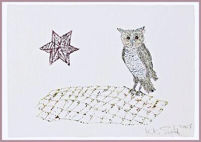 Kiki Smith, 'Owl and Star', 2007