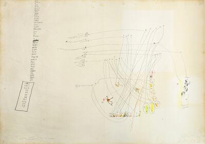 "Gastone Novelli, '""Talking""', 1963"
