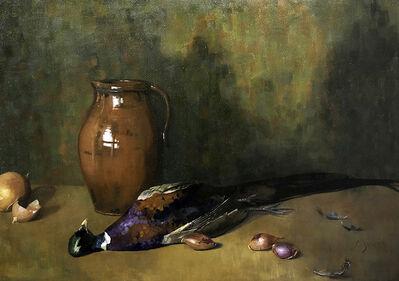 Cynthia Zinser, 'Homage to Emil Carlsen, Pheasant', 2020