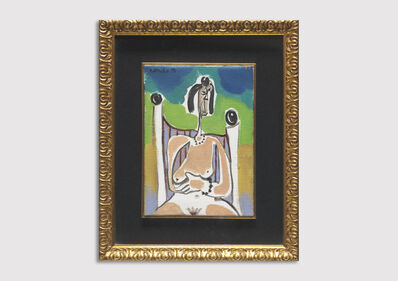 George Condo, 'After Picasso', 1991