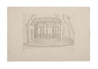 Suzanne Cattan, 'The Kiosk', 20th Century