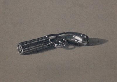 A.J. Fries, 'Gun from Clue', 2016