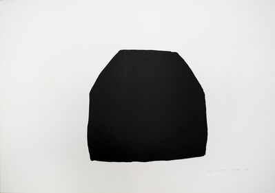 Joel Shapiro, 'Untitled (Black)', 1980