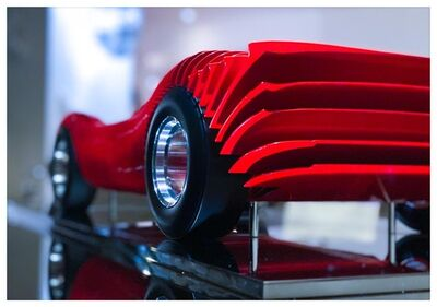 Antoine Dufilho, 'Ferrari 330 P4 Mini Rouge', 2021